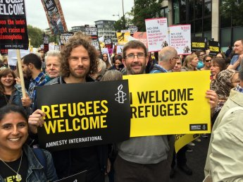 Refugees Welcome 1